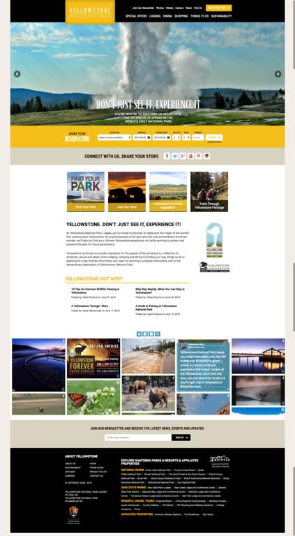 Yellow Stone website