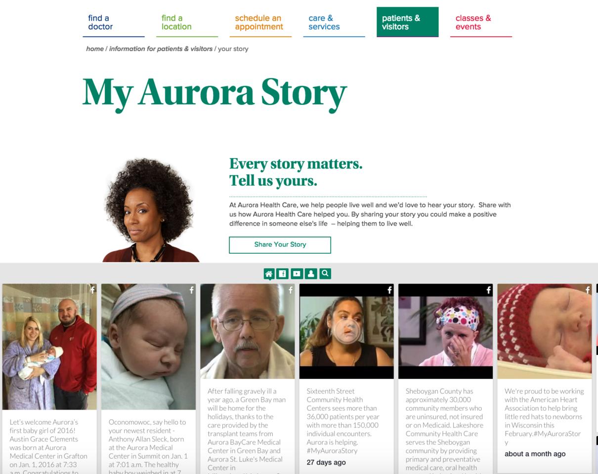 Aurora Story - Healthcare