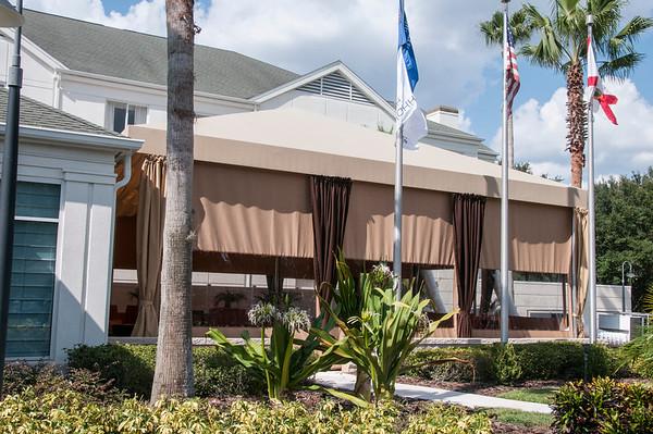 Patio Opening Party @ Hilton Garden Inn 8-21-14