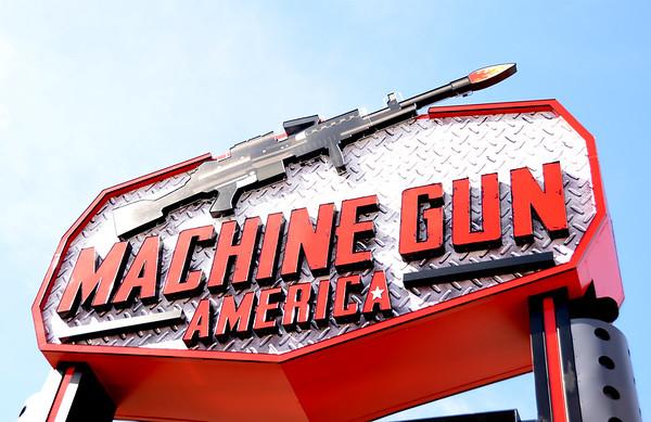 Grand Opening @ Machine Gun America 2-7-15
