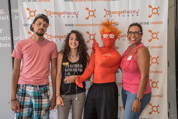 Orange Theory Fitness Club Grand Opening 7-15