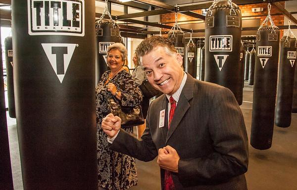 Ribbon Cutting @ Title Boxing Orlando  5-5-15