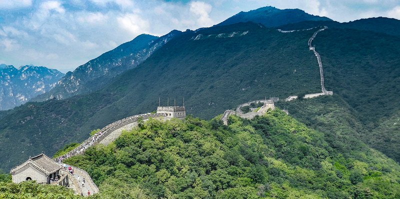 The Great Wall - Views Towards Watchtower 20