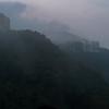 Sunset and Mist on the Peak