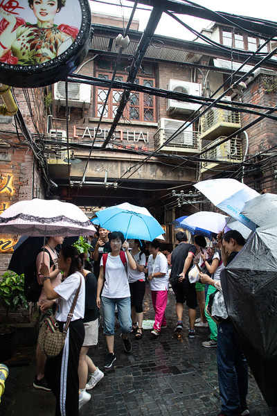 Tianzifang Street - Small shops, Narrow Streets