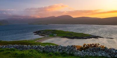 Scotland Loch Eriboll at Sunset by Scott Donschikowski