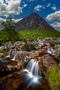 Scotland Bauchaille Etive More in Glen Coe by Scott Donschikowski
