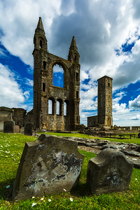 Scotland St Andrews Cathedral Ruins by Scott Donschikowski