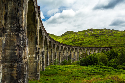 Scotland Glenfinnan Viaduct by Scott Donschikowski
