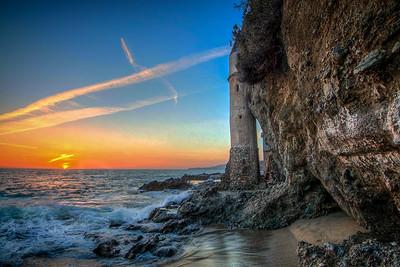 Victoria Beach Sunset 2