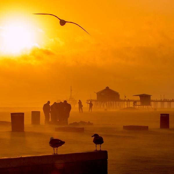 Solar Evening Pier