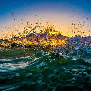World Oceans Day Splash