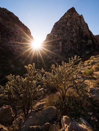 Pine Creek Canyon Sunset