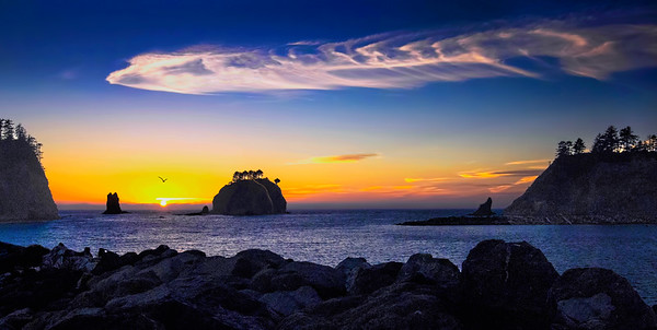 Olympic National Park at SunsetFinal full width