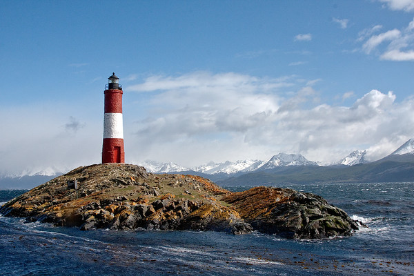 Les Eclaireurs Lighthouse in the Beagle Channel, Argentina