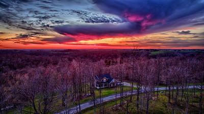 Raspberry Sunset
