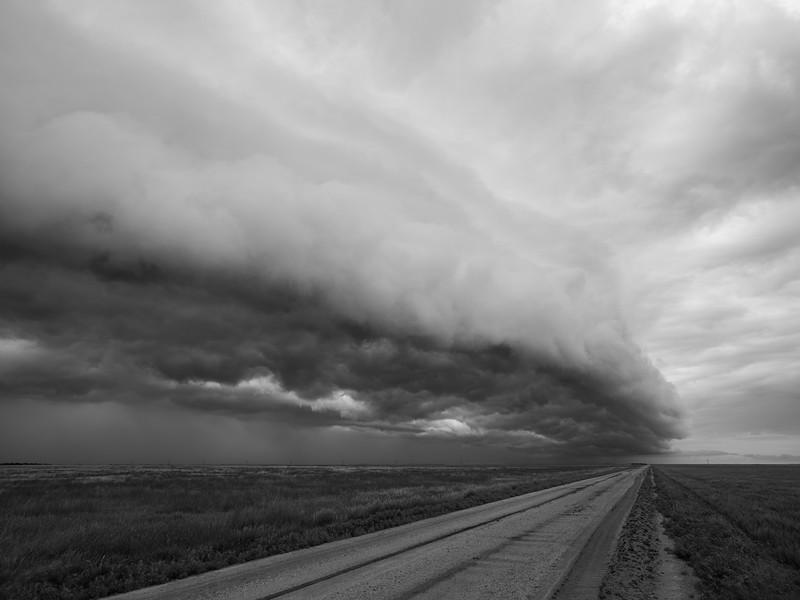 Shelf Cloud, Southwest Kansas