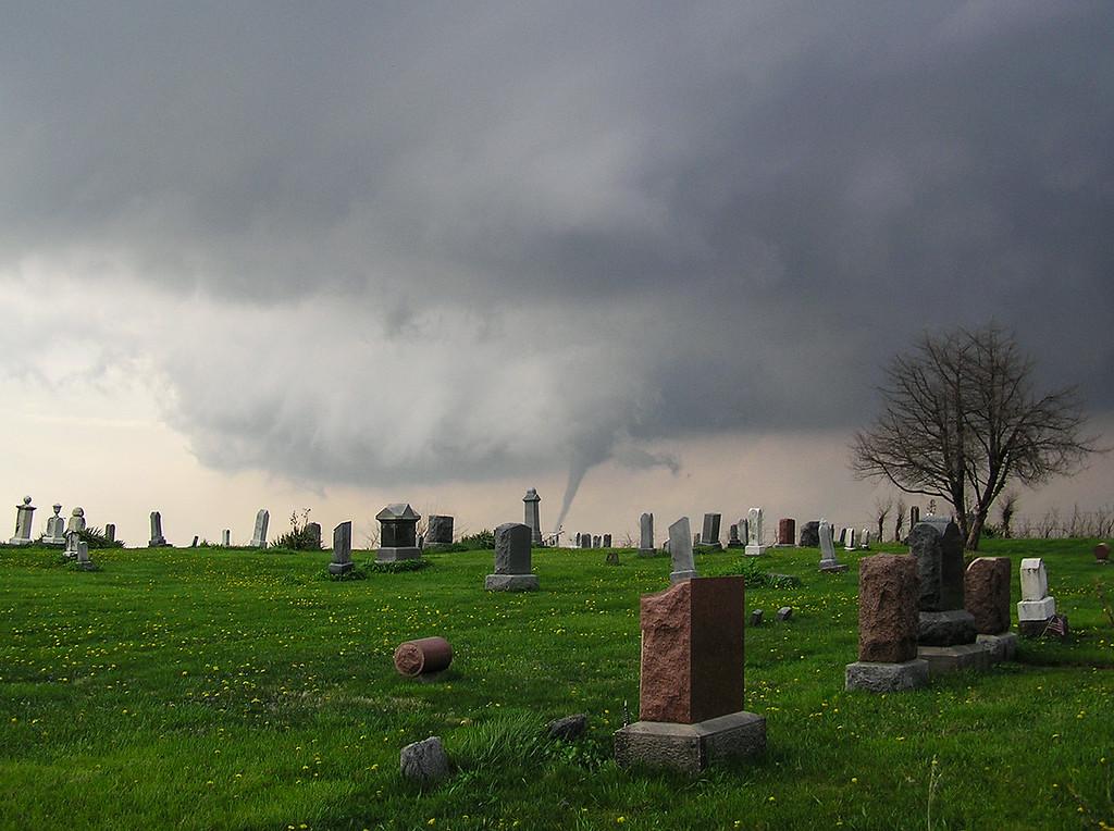 Tornado and Graveyard