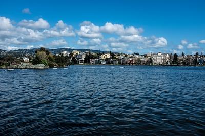 Lake Merritt in Blue