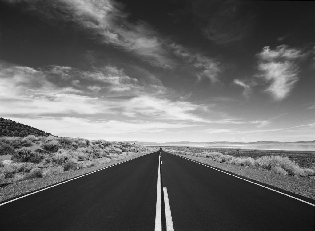 Endless Road, Mono County, CA