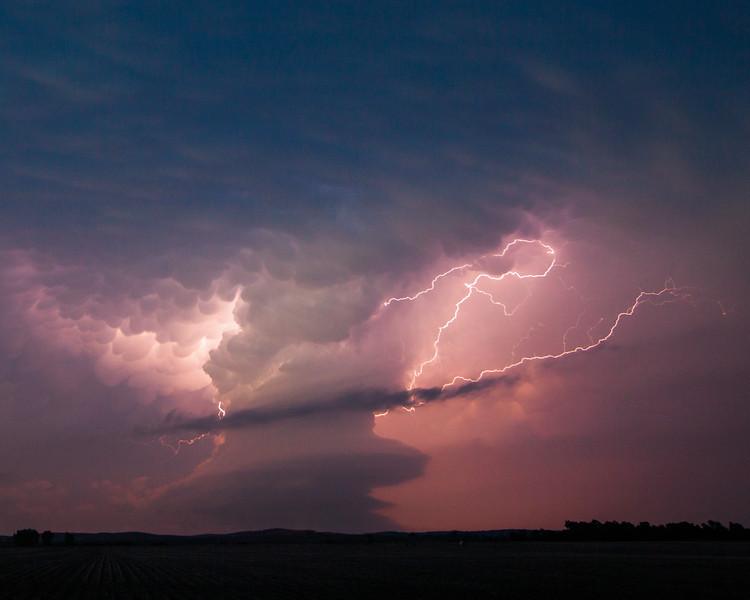 Ansley, Nebraska Lightning 3
