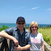 """Today we did a nice beach stroll along the 3 """"Riu"""" resorts in the area we're staying at... looks like Tanya & Shawn are enjoying the warm weather, sunny skies & the surrounding ocean! :-)"""