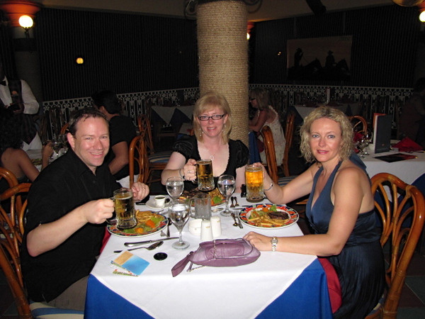 After a great day exploring Puerto Plata we enjoyed a great meal at the Steakhouse at our resort... a very nice way to end the day!! :-)