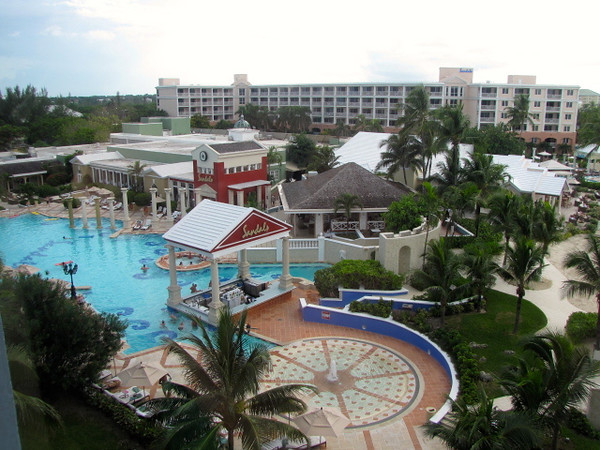 There's the resort's main pool & restaurants & bar area... beaches, pools, food, drinks... what else does one need! :-)