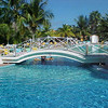 As we showed you earlier, the resort has a great beach there but it also had a pretty impressive pool to play in!