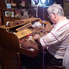 Here we saw someone hand-rolling the famous Cuban Cigars... very cool!