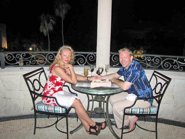 Night after night we enjoyed some great meals... awe, Vacations... there's nothing better! :-)