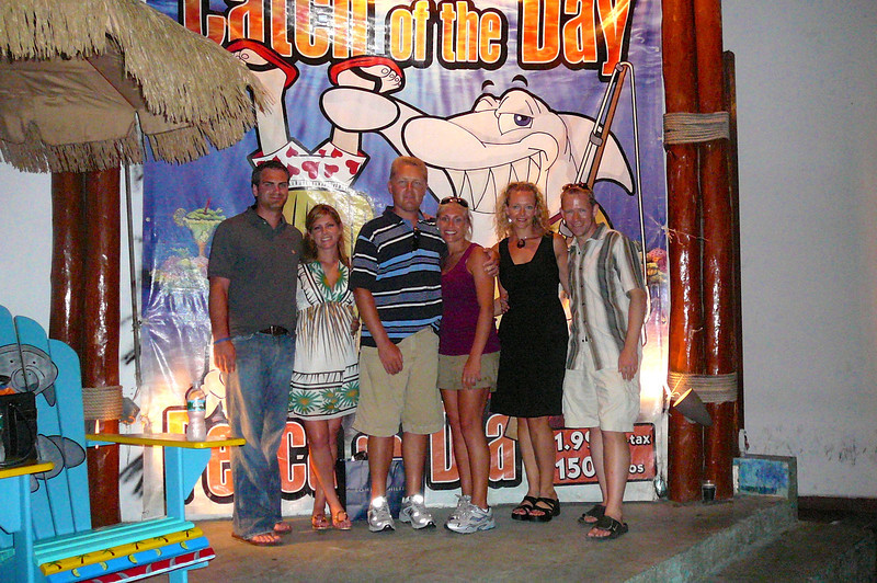 We met some great couples at the resort and all headed into Cancun one night for an off the resort dinner & a little entertainment... that was a nice night!