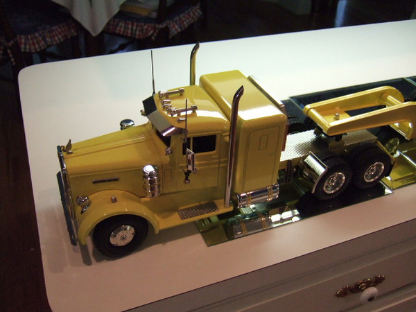 This is an All American Kenworth loaded up with custom accessories.