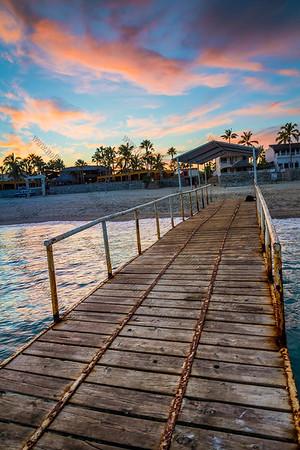 Fishing Dock Sunset