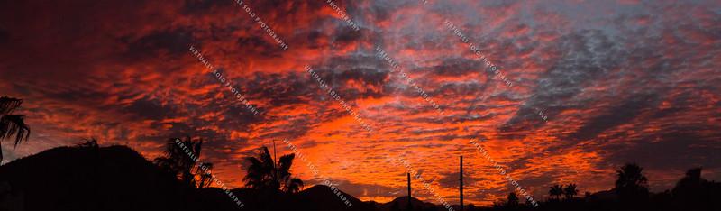 Sunset at Pemex Ridge