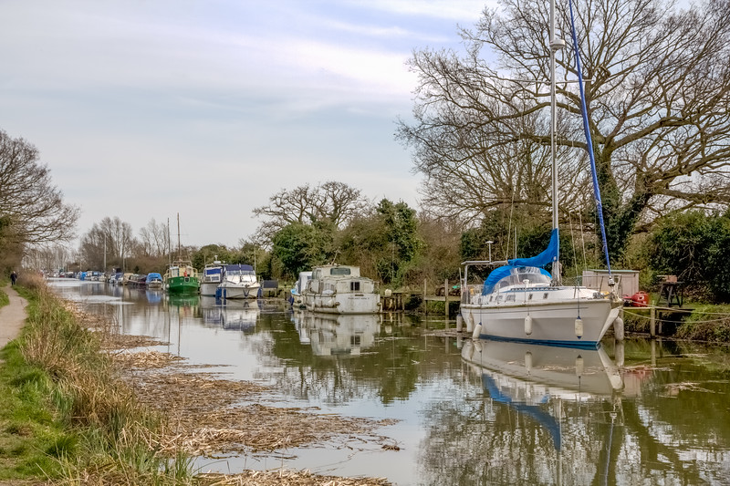 The Chelmer canal near Heybridge basin