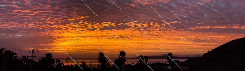 Sunrise over Sea of Cortez
