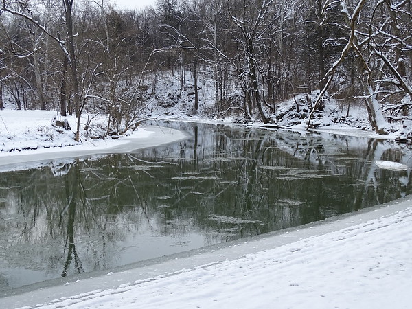 Winter River Bend