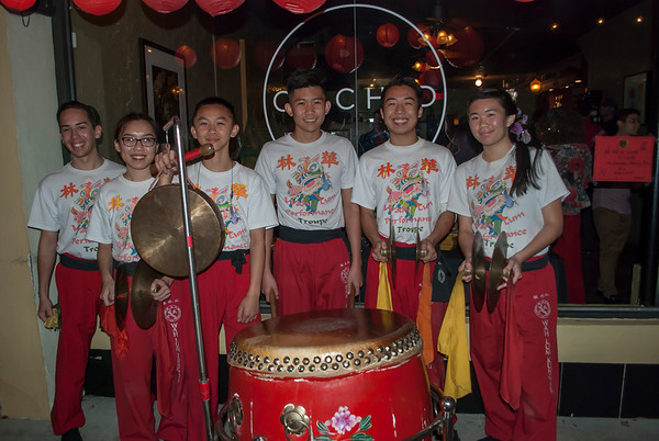 Chinese New Year 2018 celebration @ Orchid Thai 2-17-18