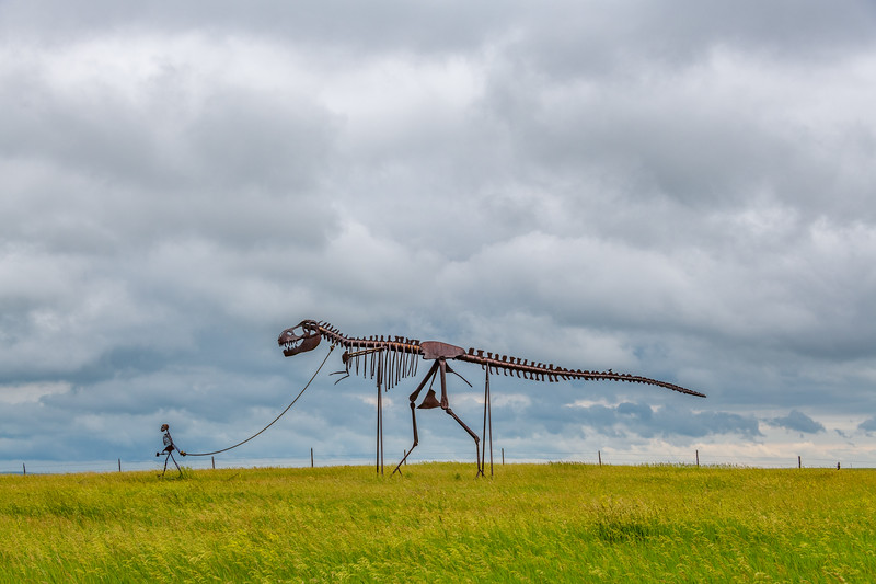 Skeleton Man Walking Skeleton Dinosaur