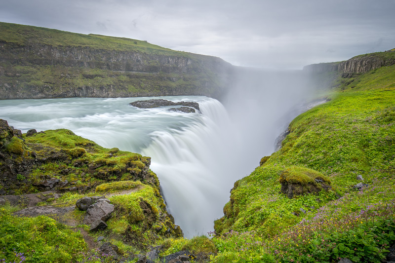The Mighty Gullfoss Falls, Iceland