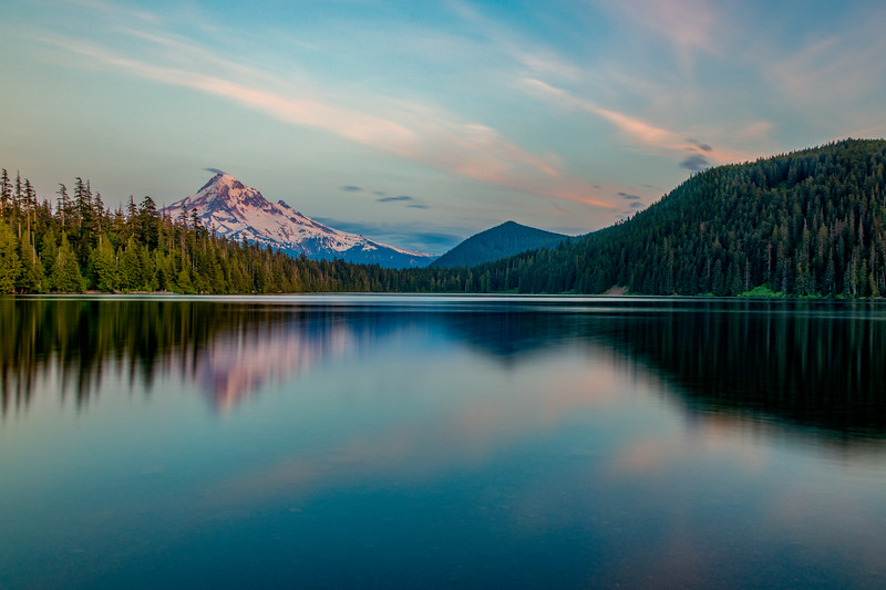 Lost Lake and Mt. Hood