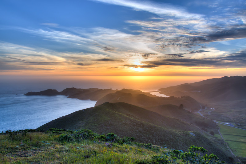 Marin Headlands Sunset