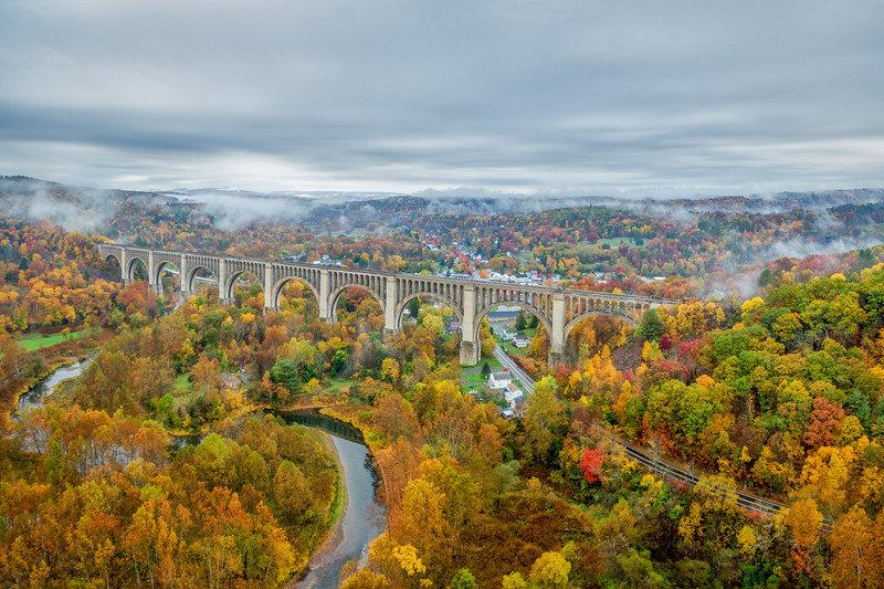 Tankhanncok Viaduct Fall Foliage