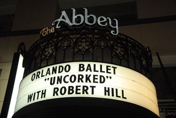 Orlando Ballet Uncorked @ Abbey 12-5-11