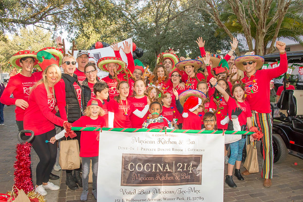Winter Park Christmas Parade 12-3-16