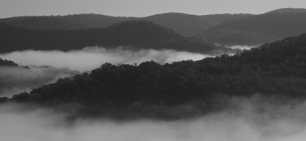 AUX ARCS Black & White Photography Of The Ozarks Region