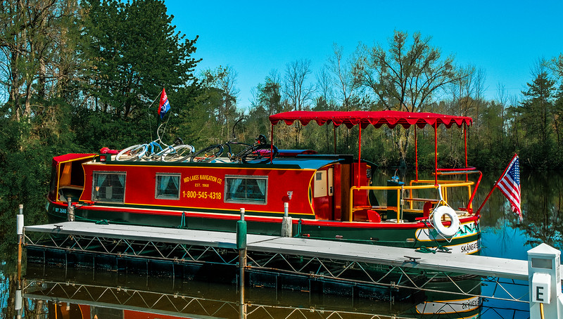 Erie Canal - Macedon Marina 2012