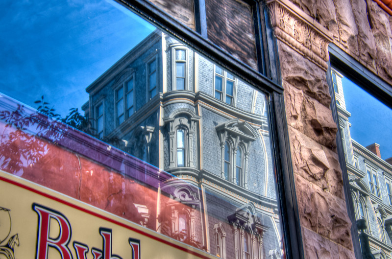 City Reflections -  Behind the Glass