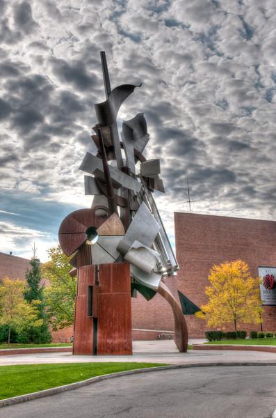 Albert Paley sculpture on RIT Campus